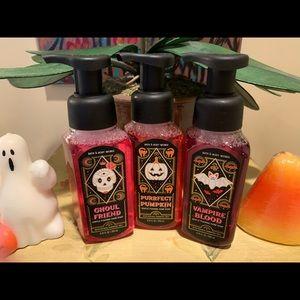 Bath & Body Works Halloween Hand Soap Trio NWT